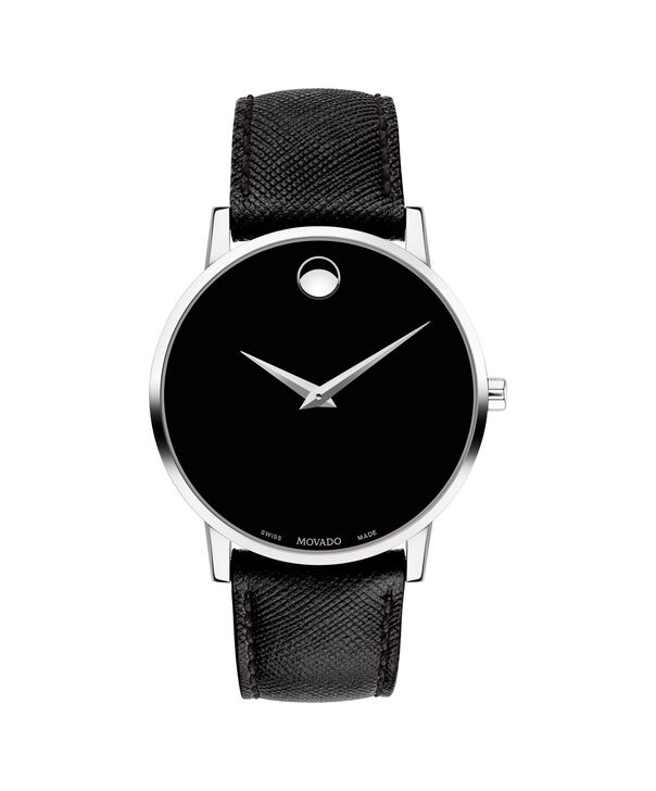 MOVADO Museum Classic0607194 – Men's 40 mm strap watch - Front view