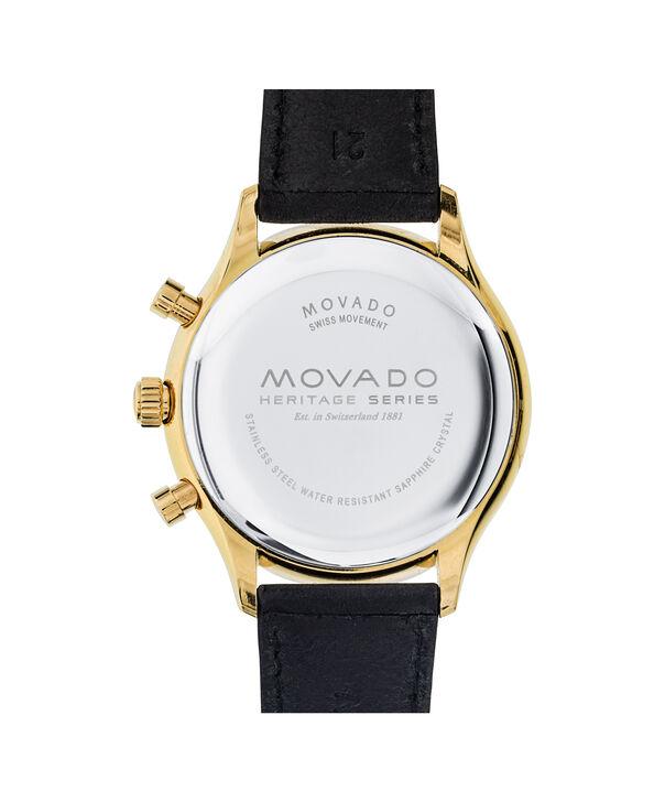 MOVADO Movado Heritage Series3650006 – Men's 43 mm strap chronograph - Back view