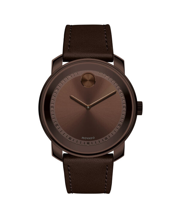 Movado | Movado Bold Large Brown Watch With Brown Strap