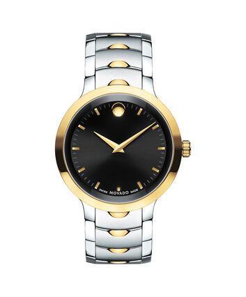 MOVADO Luno0607043 – Men's 40 mm bracelet watch - Front view