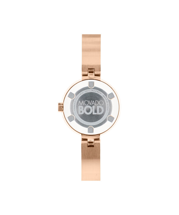 MOVADO Movado BOLD3600286 – 25 mm Metals bangle watch - Back view