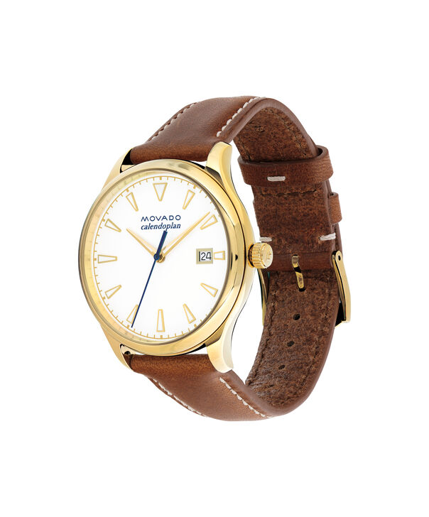 MOVADO Movado Heritage Series3650033 – Women's 36 mm strap watch - Side view