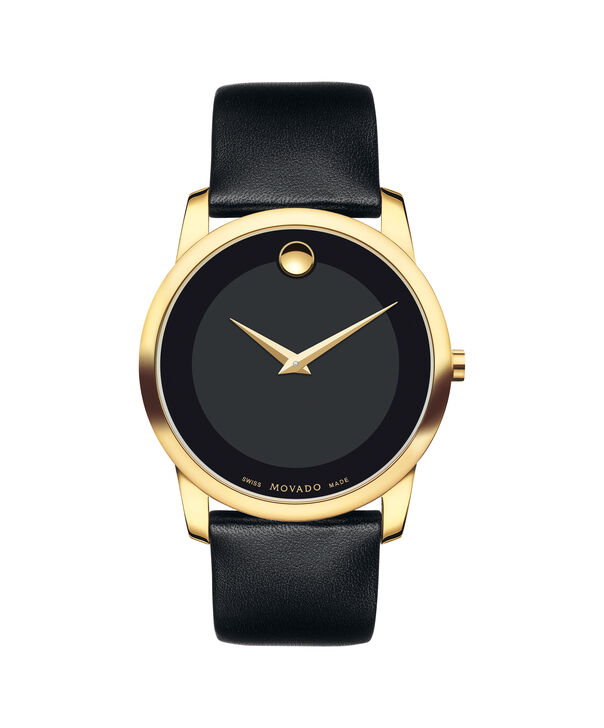 MOVADO Museum Classic0606876 – Men's 40 mm strap watch - Front view