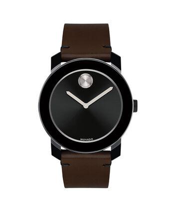 MOVADO Movado BOLD3600443 – 42mm Colorado leather strap watch - Front view