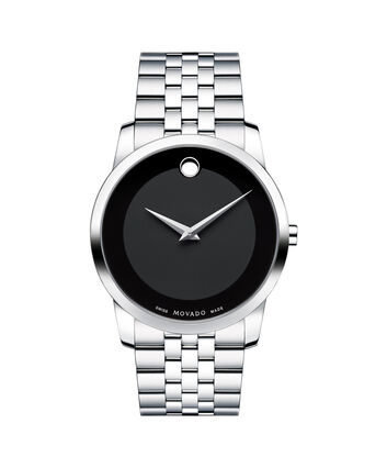MOVADO Museum Classic0606504 – Men's 40 mm bracelet watch - Front view