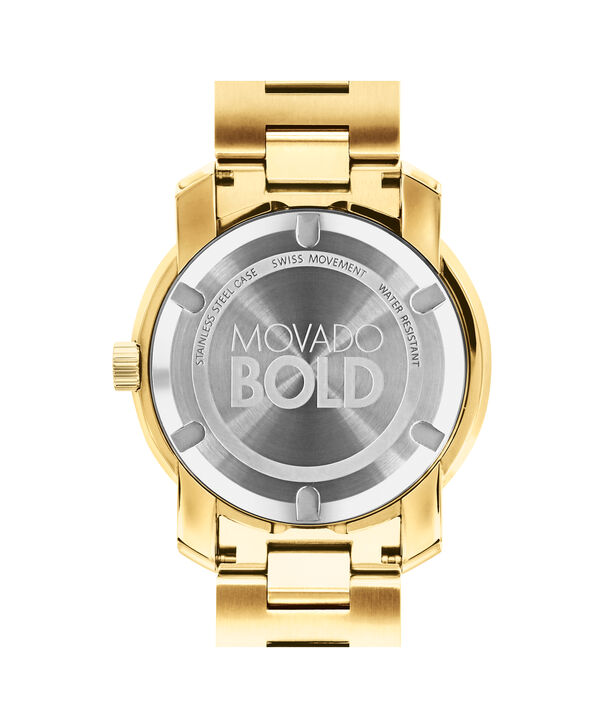 MOVADO Movado BOLD3600582 – 42mm BOLD Metal 2H on Bracelet - Back view
