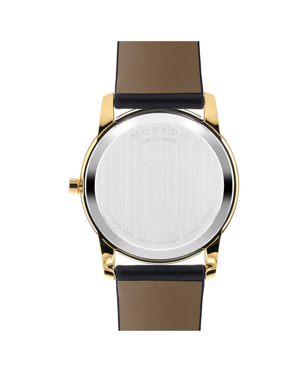 MOVADO Museum Classic0606876 – Men's 40 mm strap watch - Back view