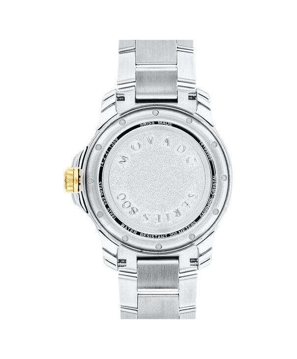 MOVADO Series 8002600147 – Men's 40 mm bracelet watch - Back view