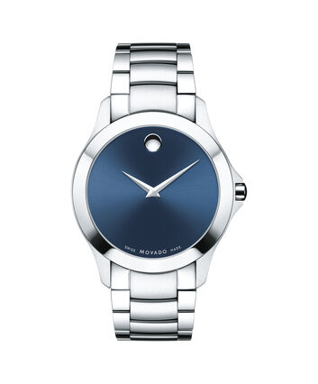 MOVADO Masino0607033 – Men's 40 mm bracelet watch - Front view