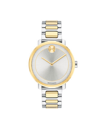 MOVADO Movado BOLD3600519 – 34 mm Metals bracelet watch - Front view