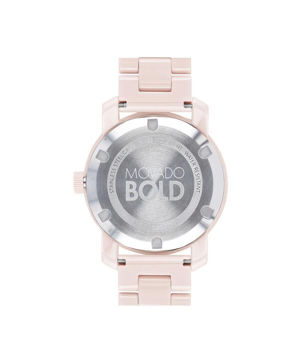 MOVADO Movado BOLD3600536 – 36 mm ceramic bracelet watch - Back view