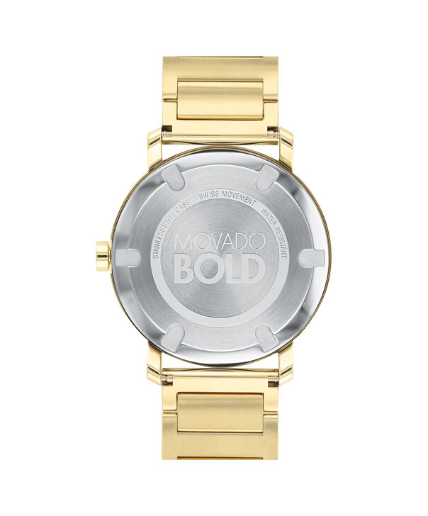 MOVADO Movado BOLD3600508 – Men's 40 mm bracelet watch - Back view