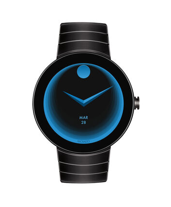 MOVADO Movado Connect3660015 – 46.5 mm display smartwatch - Front view