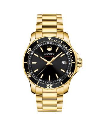 MOVADO Series 8002600145 – Men's 40 mm bracelet watch - Front view