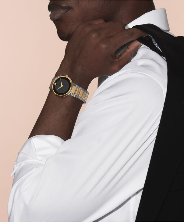 MOVADO Modern Classic0607120 – Men's 39.5 mm bracelet watch - Other view