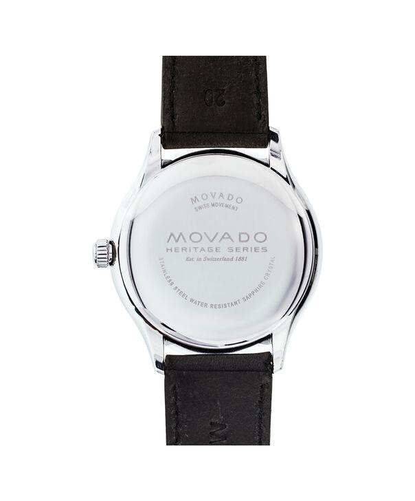 MOVADO Movado Heritage Series3650004 – Men's 40 mm strap watch - Back view