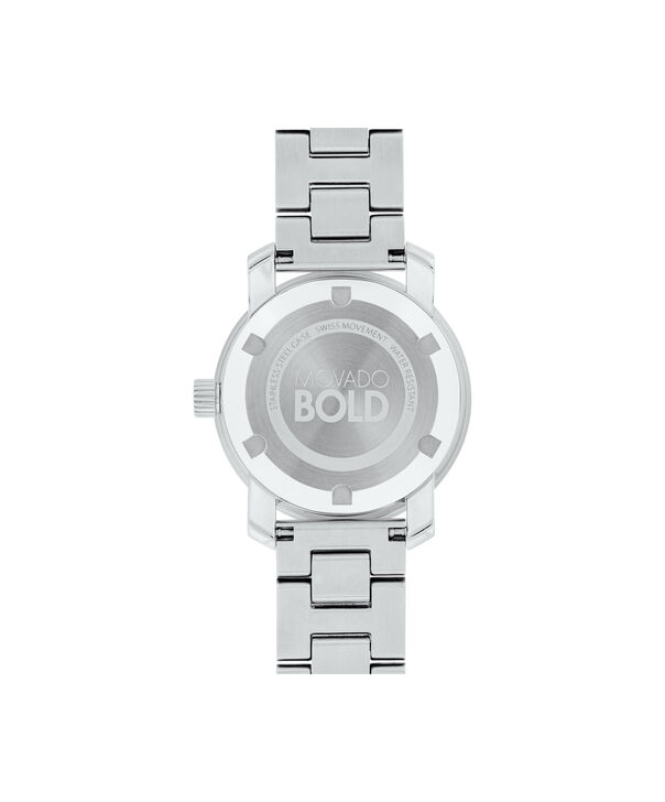 MOVADO Movado BOLD3600436 – 30 mm Metals bracelet watch - Back view