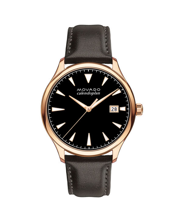 MOVADO Movado Heritage Series3650020 – Men's 42 mm strap watch - Front view