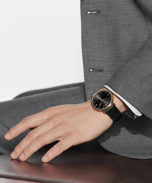 MOVADO Movado Ultra Slim0607087 – Men's 40 mm strap watch - Other view