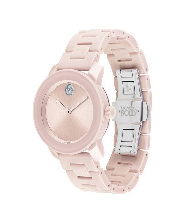 MOVADO Movado BOLD3600536 – 36 mm ceramic bracelet watch - Side view
