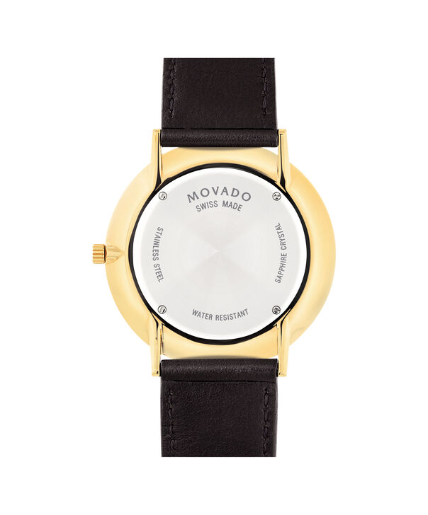 86a5134b2c9 ... MOVADO Movado Ultra Slim0607088 – Men s 40 mm strap watch - Back view