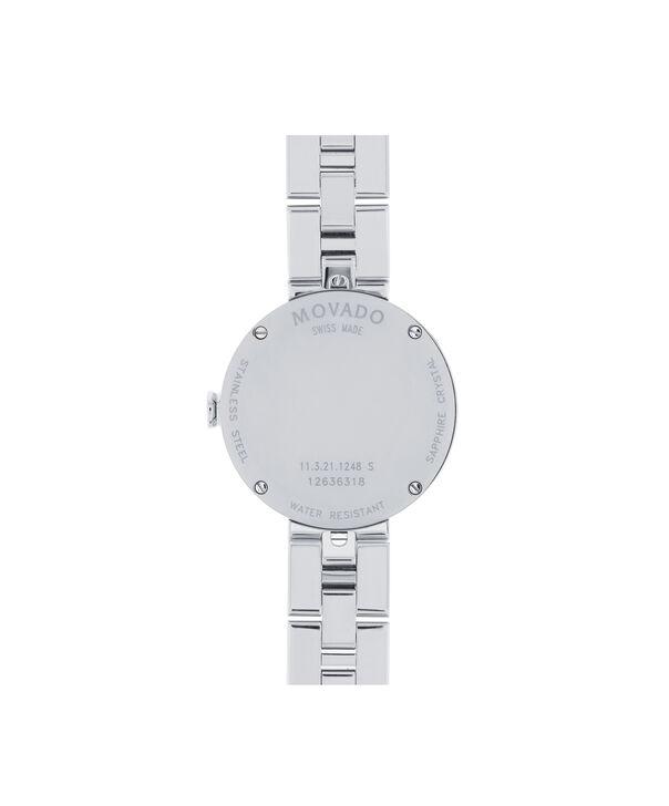 MOVADO Sapphire0606814 – Women's 28 mm bracelet watch - Back view