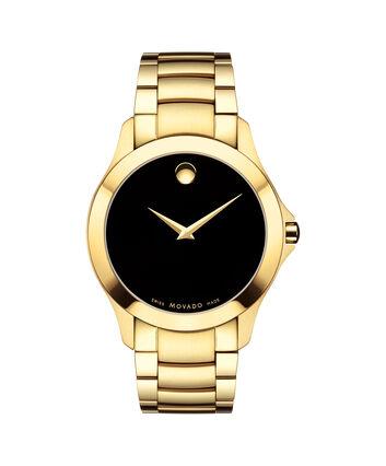 MOVADO Masino0607034 – Men's 40 mm bracelet watch - Front view