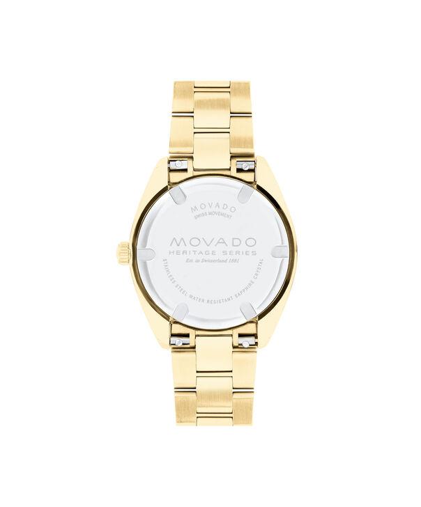MOVADO Movado Heritage Series3650078 – Women's 31 mm bracelet watch - Back view