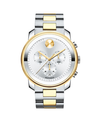 MOVADO Movado BOLD3600432 – 44 mm Metals bracelet chronograph - Front view