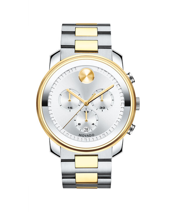 MOVADO Movado BOLD3600432 – 44 mm Metals bracelet chronograph - Front view
