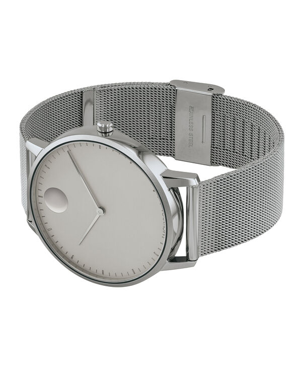 MOVADO Movado Face3640008 – Men's 41 mm bracelet watch - Side view