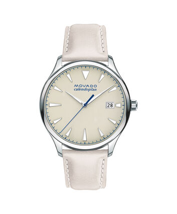 MOVADO Movado Heritage Series3650063 – Men's 40 mm strap watch - Front view
