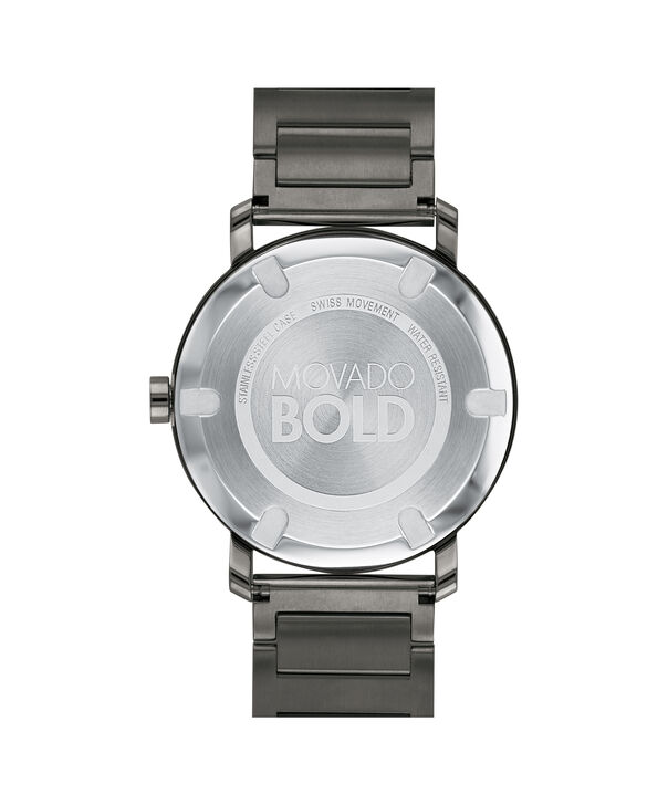 MOVADO Movado BOLD3600509 – Men's 40 mm bracelet watch - Back view