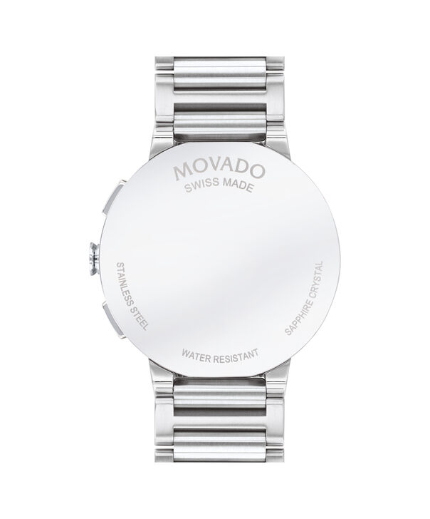 MOVADO Sapphire0607239 – Men's 43 mm bracelet chronograph - Back view
