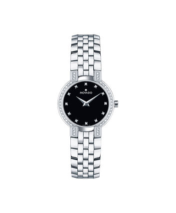 MOVADO Faceto0605586 – Women's 25 mm bracelet watch - Front view