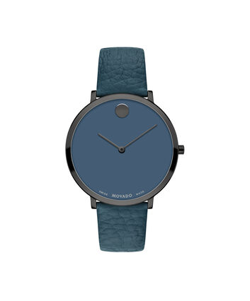 MOVADO Modern 470607341 – 35mm Modern 47 on Strap - Front view