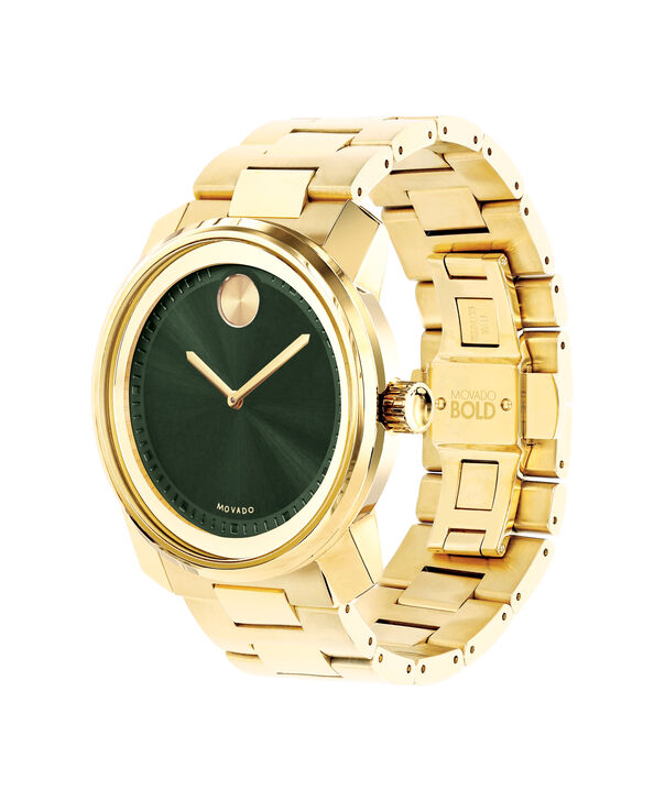 MOVADO Movado BOLD3600582 – 42mm BOLD Metal 2H on Bracelet - Side view