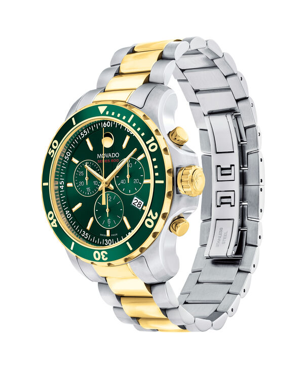 MOVADO Series 8002600148 – Men's 40 mm chronograph bracelet watch - Side view