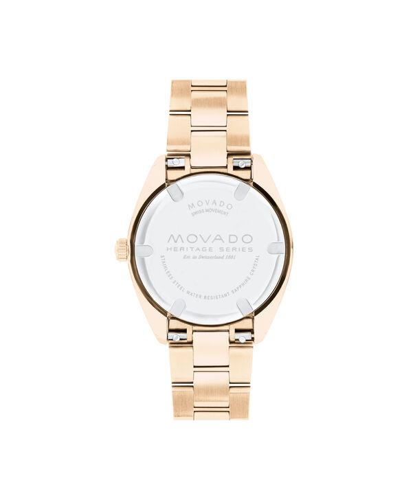 MOVADO Movado Heritage Series3650079 – Women's 31 mm bracelet watch - Back view