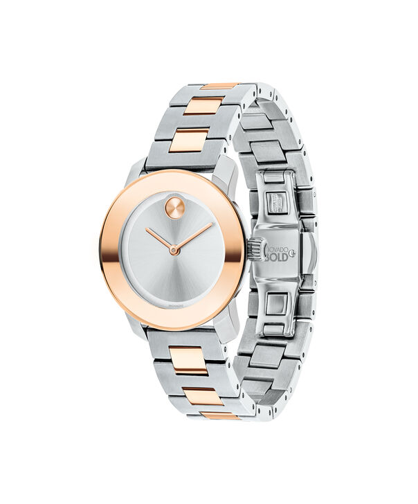MOVADO Movado BOLD3600464 – 30 mm Metals bracelet watch - Side view