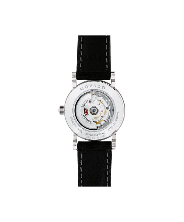 MOVADO Red Label0607009 – Women's 26 mm automatic strap watch - Back view