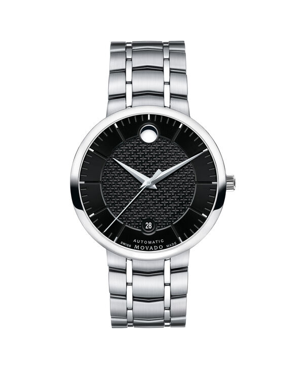 MOVADO 1881 Automatic0607164 – Men's 39.5 mm strap watch - Front view