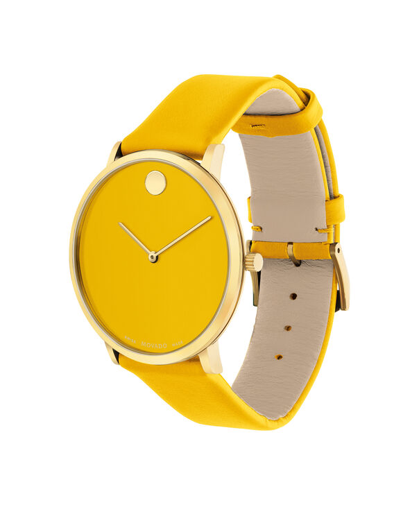 MOVADO Modern 470607255 – Movado.com EXCLUSIVE 40mm strap watch - Side view