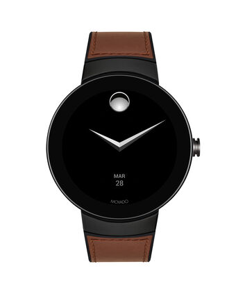 MOVADO Movado Connect3660019 – 46.5 mm display smartwatch - Front view