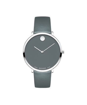 MOVADO 70th Anniversary0607144 – Mid-Size 35 mm strap watch - Front view