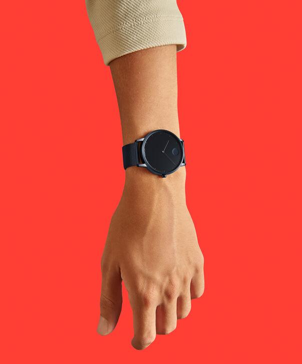 MOVADO Movado Face3640009 – Men's 41 mm bracelet watch - Back view