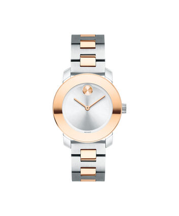 MOVADO Movado BOLD3600464 – 30 mm Metals bracelet watch - Front view