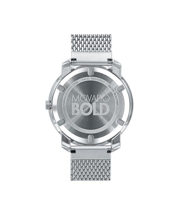 MOVADO Movado BOLD3600241 – 36 mm flat mesh bracelet watch - Back view