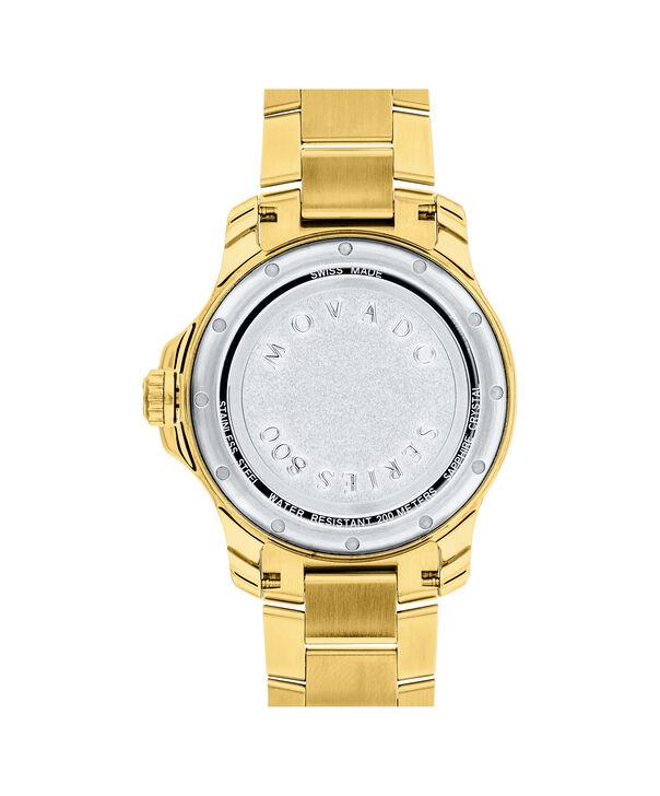 MOVADO Series 8002600145 – Men's 40 mm bracelet watch - Back view
