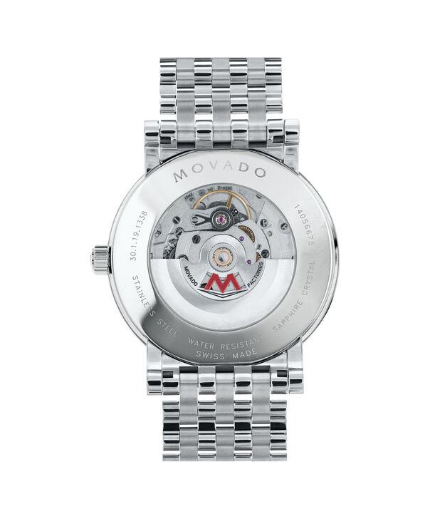 MOVADO Red Label0607008 – Men's 42 mm automatic bracelet watch - Back view